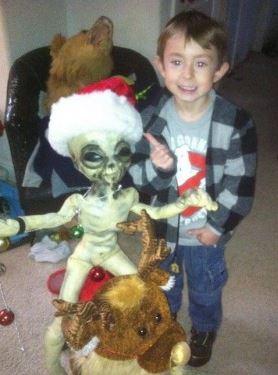 Boyd Bushman Alien a toy from Walmart