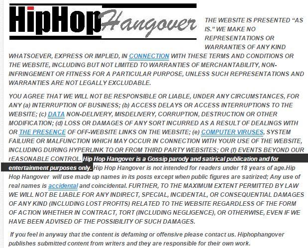 Hip Hop Hangover Fake
