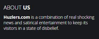 Huzlers disclaimer