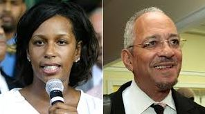 Jeri and Jeremiah Wright