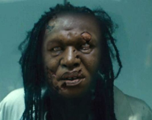 Captured Ebola zombie