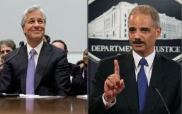 Eric Holder JP Morgan Chase