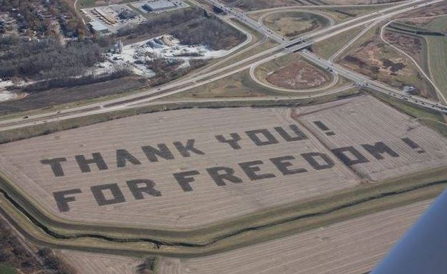 Farmer thanks Air Force