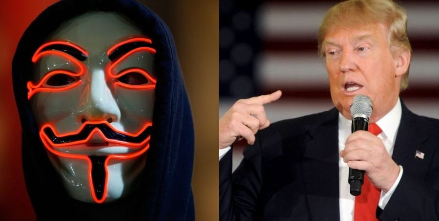 Anonymous Trump Hack
