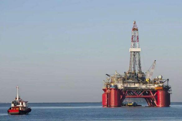 Atlantic Oil Rig