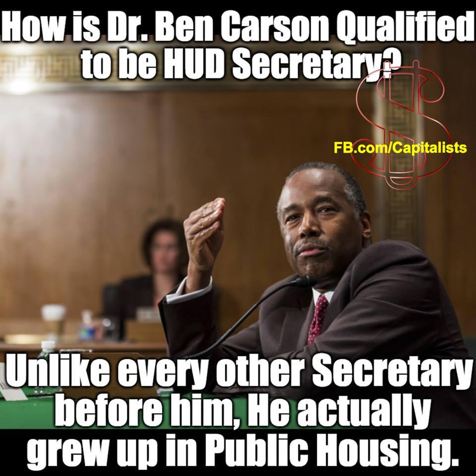 Dr. Ben Carson HUD