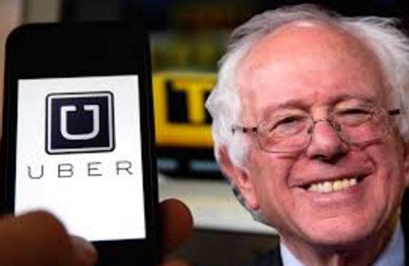Bernie Sanders Uber