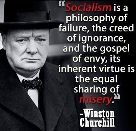 Winton Churchill - Socialism