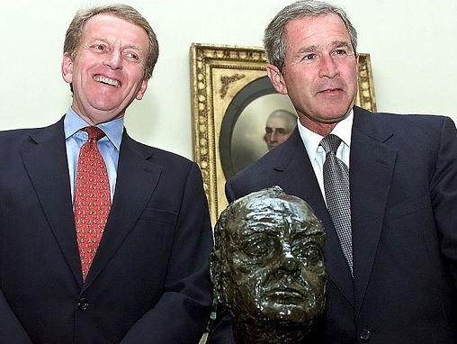 Churchill Statue at White House