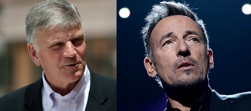 Franklin Graham Scolds Springsteen