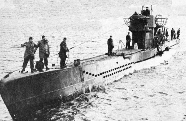 German U-boat sunk by toilet