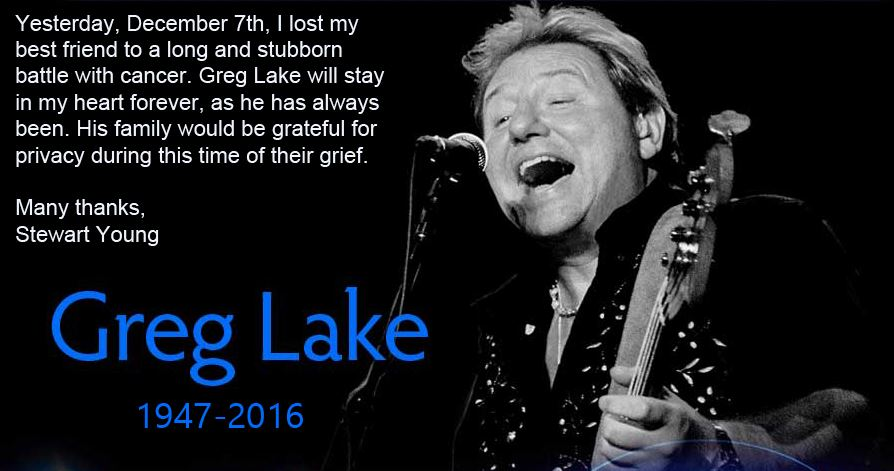 Greg Lake Dead
