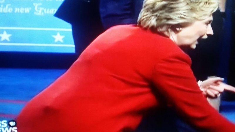 Hillary Debate Device