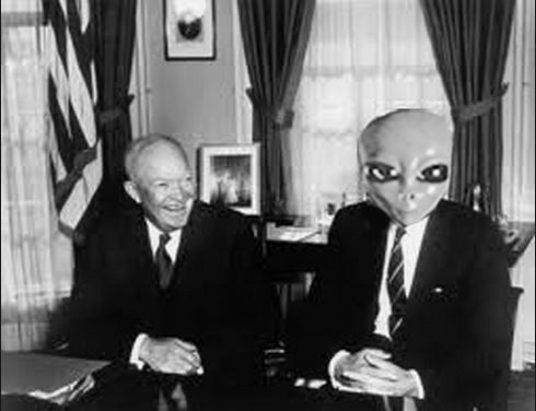 Ike and the Alien