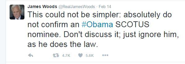 James Wood Scotus Tweet
