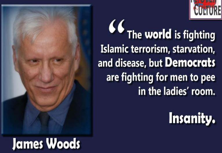 James Woods Insanity