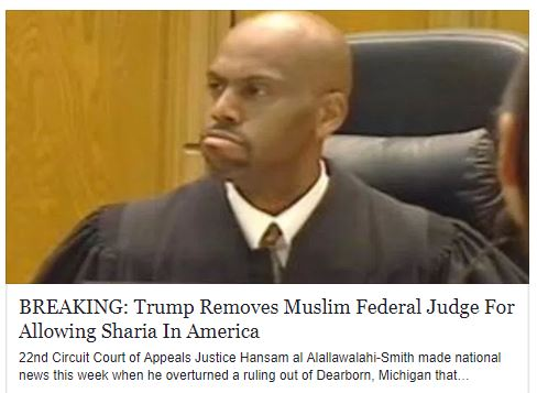 Muslim Judge