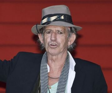Keith Richards Found Not Dead in San Francisco