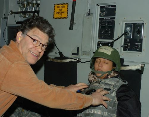Leeann Tweeden groped by Al Franken