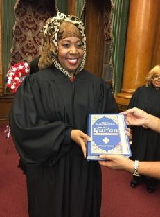 Muslim Judge Carolyn Walker-Diallo