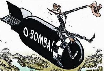 Obama Bombs