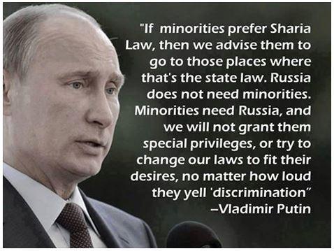 Putin Sharia