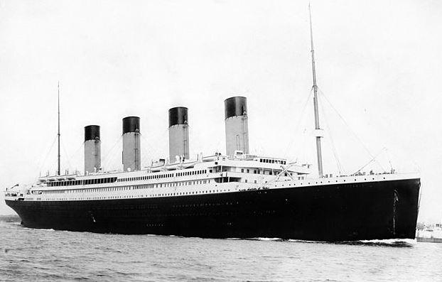 RMS Titanci Menu