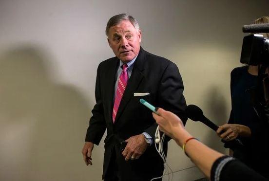 Senator Richard Burr Paper Hoarder