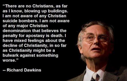 Richard Dawkins Islam Christianity