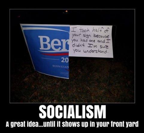Bernie Sanders Lawn Sign
