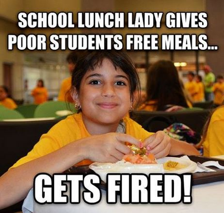 School Fires Manager over free lunch