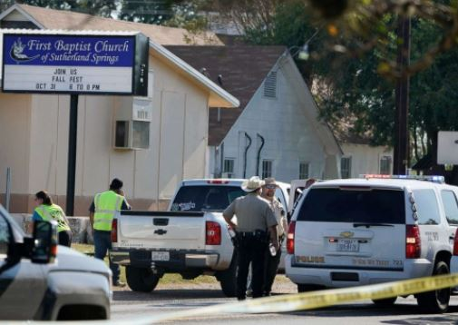 Texas Shooter Church