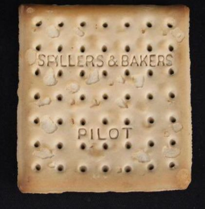 Titanic Lifeboat Biscuit - Cracker Auctioned