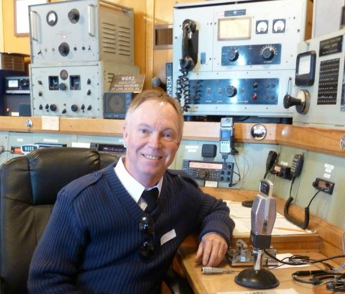 Tony Ashlin at RMS Queen Mary