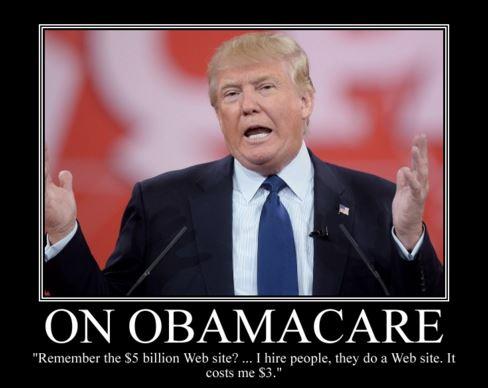 Donald Trump Obamacare repeal