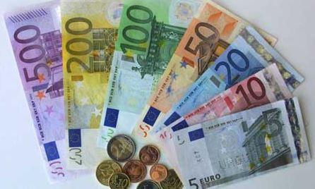U.S. dropping dollar for euro.